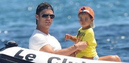 Syn Ronaldo nie zna swojej matki!