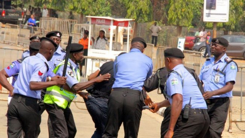13 policemen arrested for illegal raiding on night club in Lagos