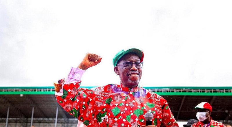 Gov Okowa wants Nigerians to return PDP to the presidency in 2023