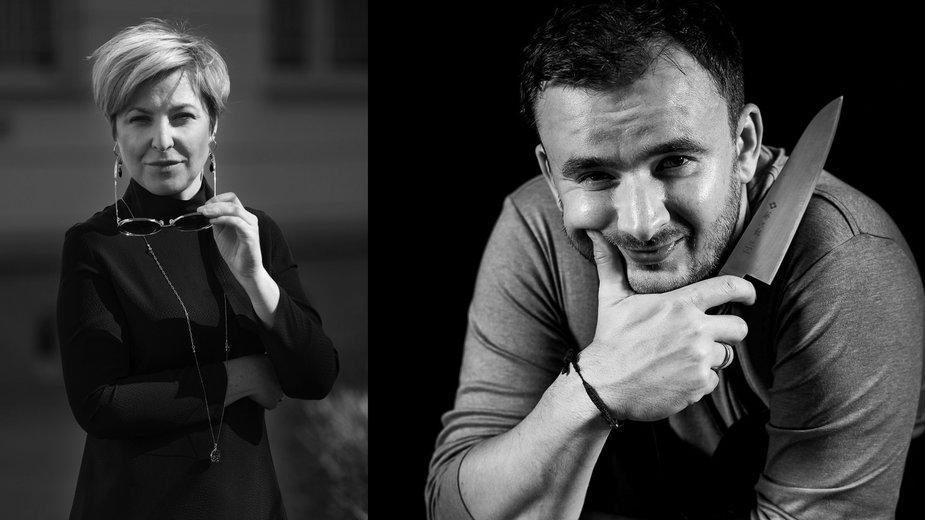 Grzesiek Zawierucha i Katarzyna Krauss