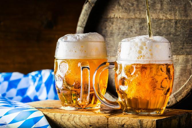 Pivo se pilo skoro svakodnevno, a pravilo se od pšenice i hmelja u kućnoj radinosti