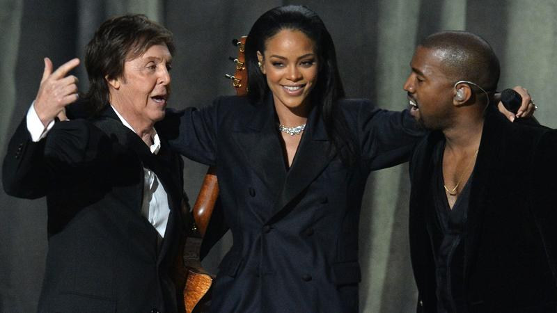 Paul McCartney, Rihanna i Kanye West na 57. rozdaniu Grammy Awards