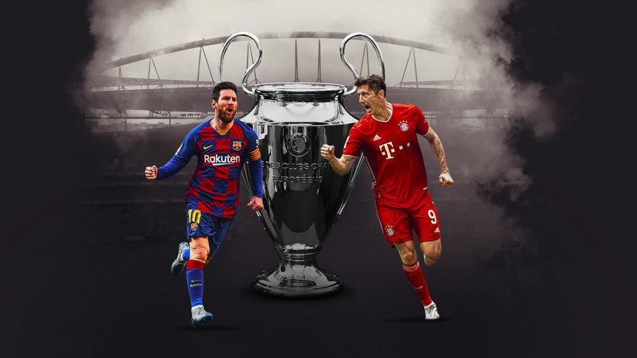 Robert Lewandowski vs Lionel Messi
