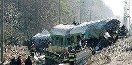 Katastrofa pociągów: Ustalenia po wizji lokalnej