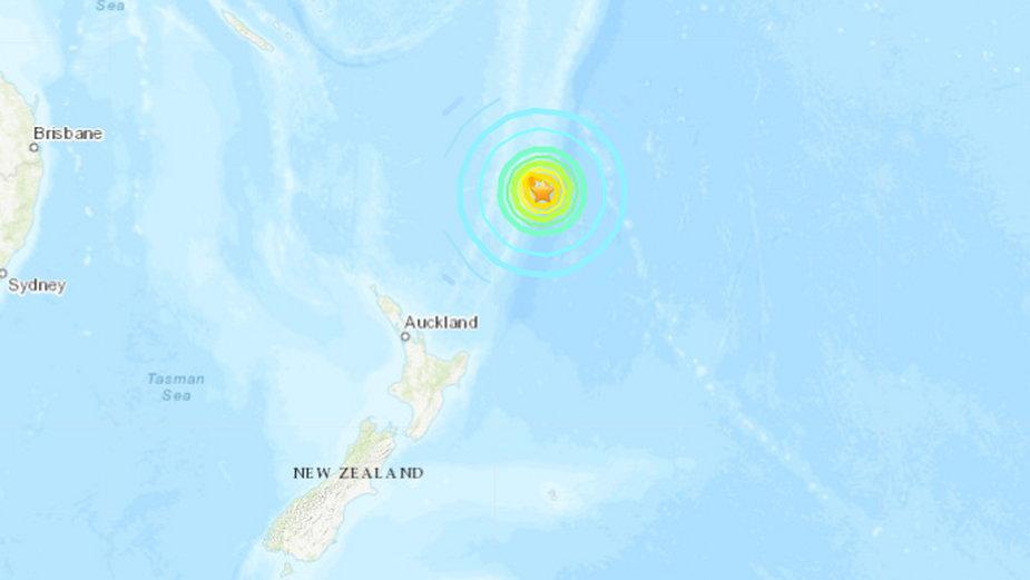 Nowa Zelandia. Silne trzęsienie ziemi na północny wschód