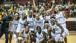 D'Tigress of Nigeria have reached the final of the 2021 Women's AfroBasket tournament  (FIBA)