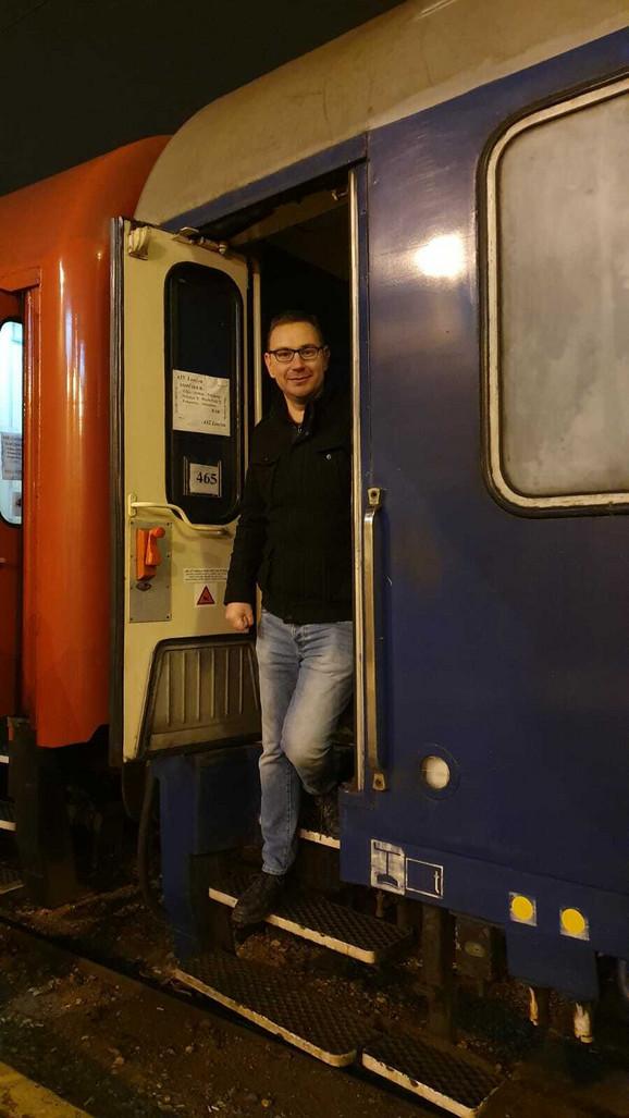 Hildebrant van Kejeren će ovo putovnje vozom pamtiti zauvek