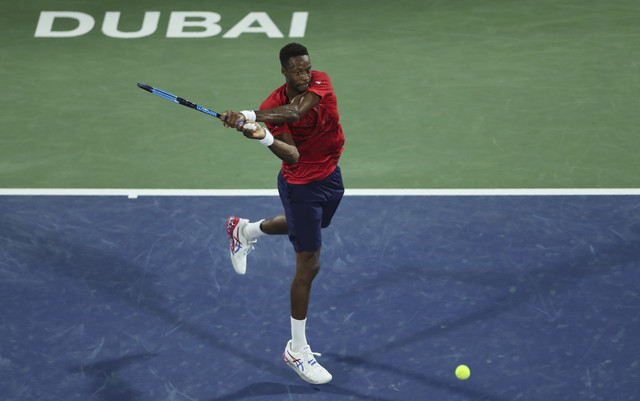 Gael Monfis na turniru u Dubaiju