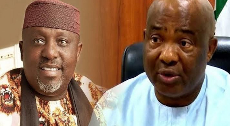The moment Okorocha and his aides were shot at in Imo