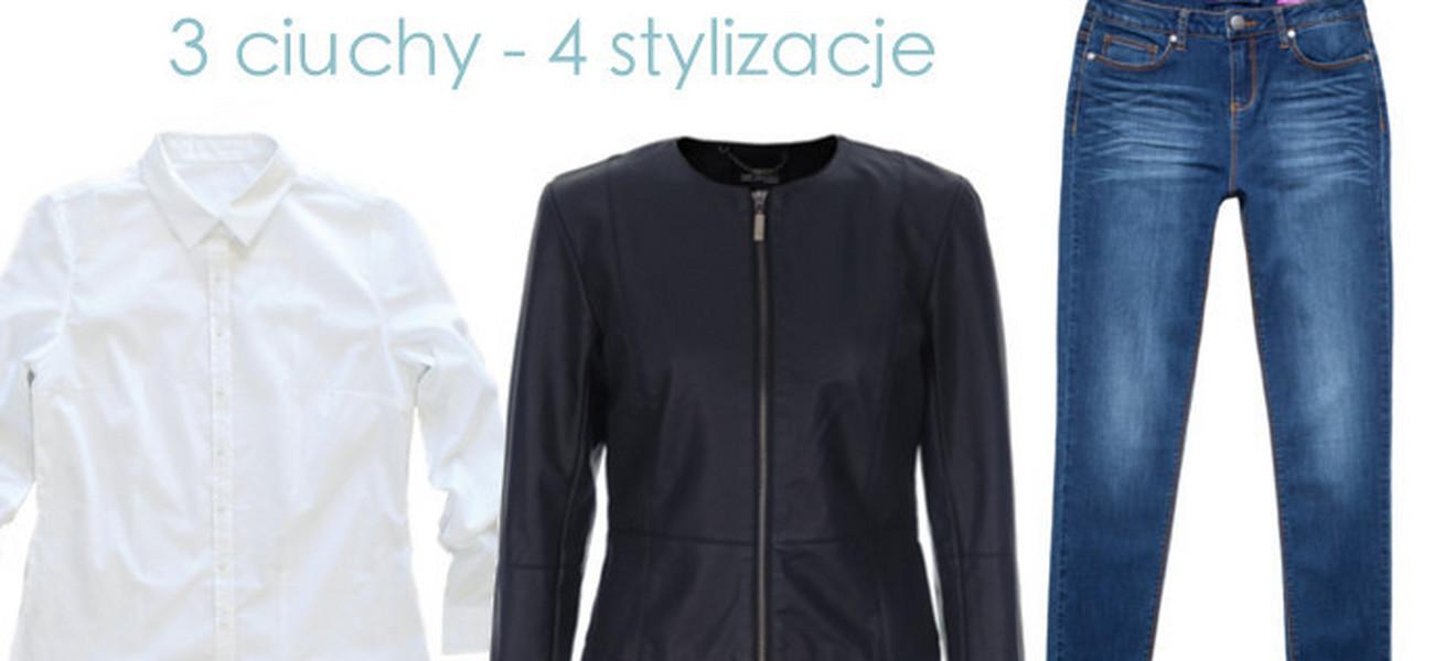 7c52c0ac77fe5e 3 ubrania basic - 4 modne stylizacje. Jak to możliwe?! Nasze porady i  przykładowe zestawy