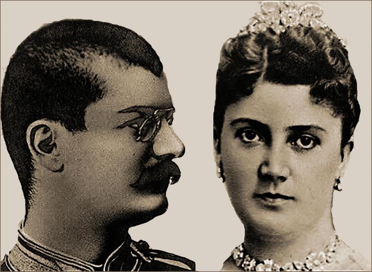 Kralj Aleksandar i kraljica Draga Obrenović