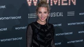 "Elsa Pataky na premierze musicalu ""Women's Secret"""