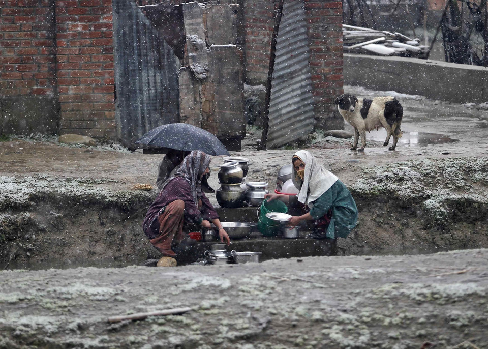 INDIAN-ADMINISTERED KASHMIR - ENVIRONMENT