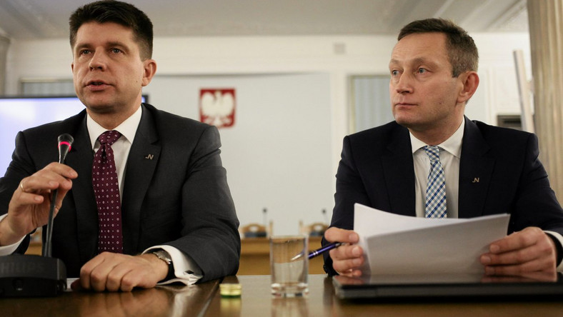 Ryszard Petru i Paweł Rabiej