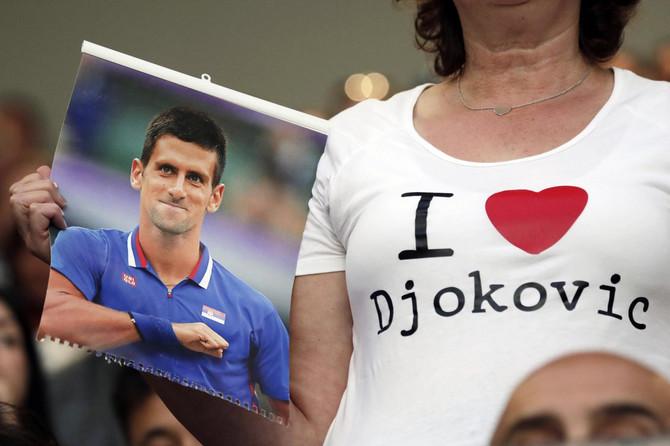 Tako se navija za Novaka Đokovića!