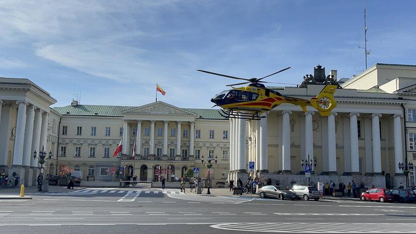 Warszawa. Zaostrza się strajk w stołecznym pogotowiu