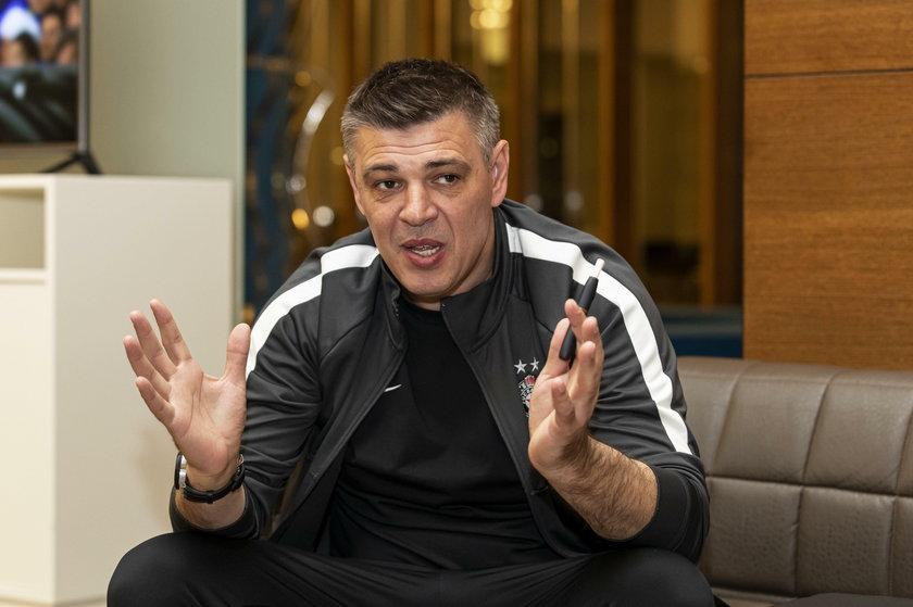Savo Milosević (47 l.) był świetnym napastnikiem, królem strzelców EURO 2000.