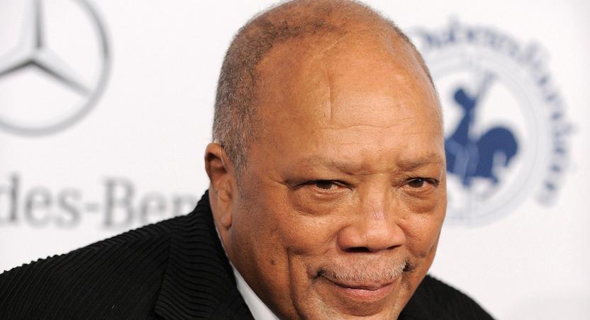 Legendary mega-producer, Quincy Jones