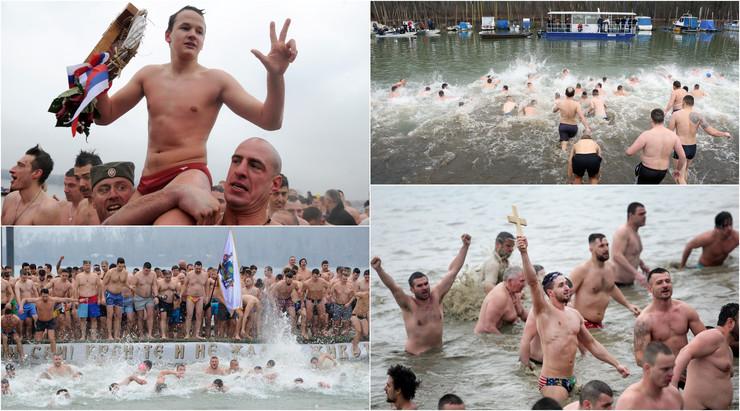 plivanje za časni krst kombo
