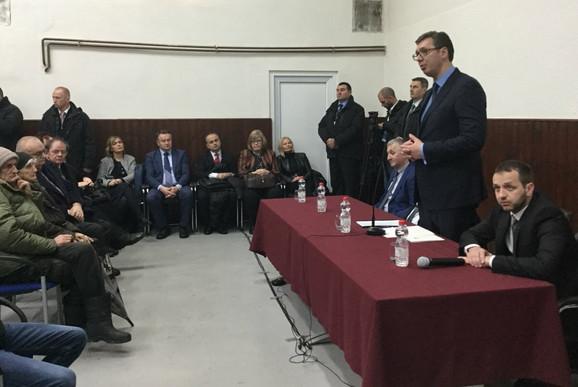 Aleksandar Vučić u Vrginmostu