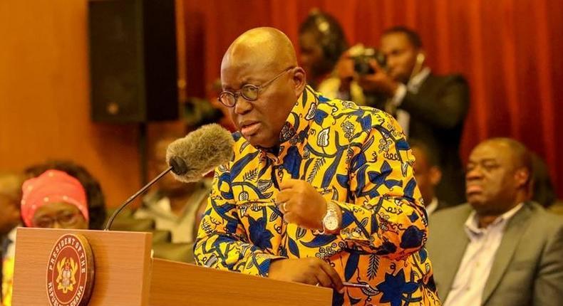 Ghana's President, Nana Addo Dankwa Akufo-Addo