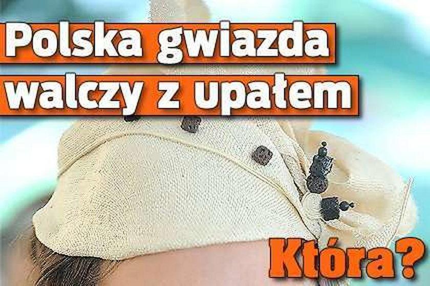 Polska gwiazda walczy z upałem. Która?