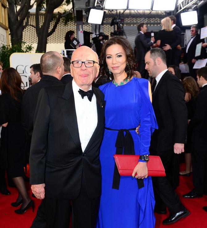 Vendi Deng i Rupert Mardok pre nekoliko godina: medijski mogul je sada u braku sa Džeri Hol, bivšom suprugom Mika Džegera
