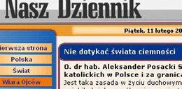 Nasz Dziennik: Demony czają się w internecie!
