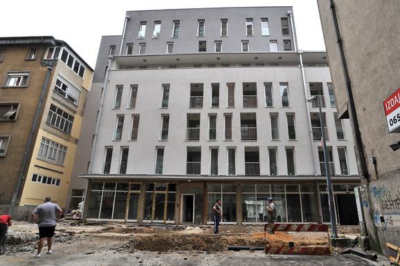 Oštetili budžet za 17 miliona dinara: Sporna zgrada u centru Užica