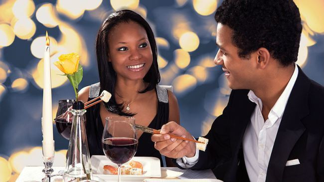 Black couple on a romantic date [Capitalfm]