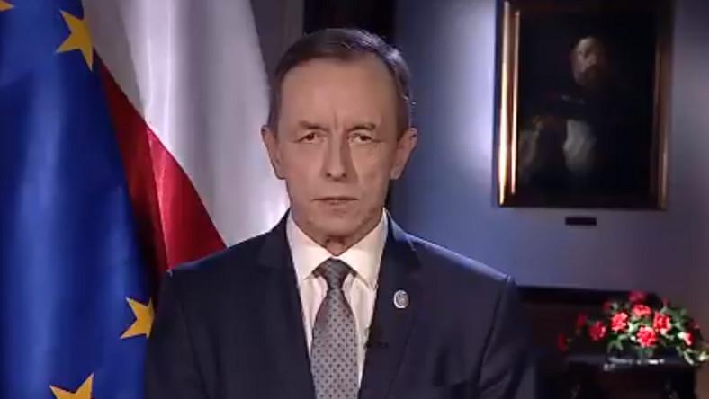 Marszałek Tomasz Grodzki (zdjęcie z Twittera PO)