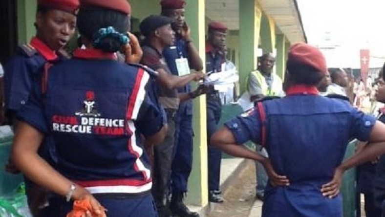 NSCDC officers/Illustration (PM News)