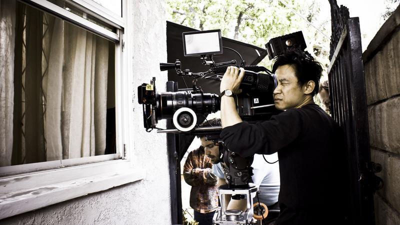 """James Wan na planie filmu """"Naznaczony"""""""