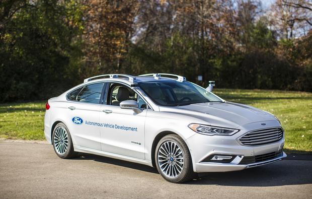 Ford nowa generacja LIDAR. Model 2017