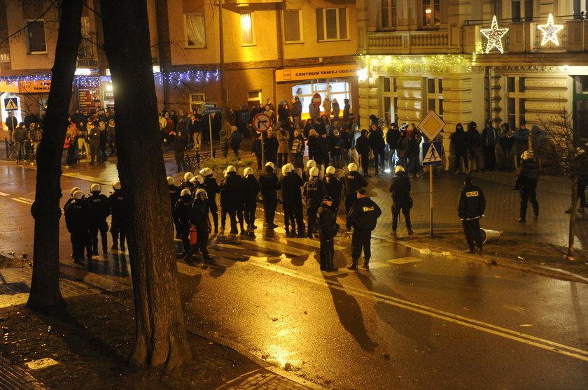 Zamieszki po zabójstwie 21-letniego Daniela w Ełku