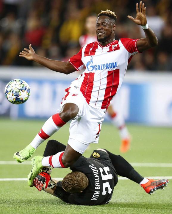 Ričmonda Boaćija je UEFA prekstila u
