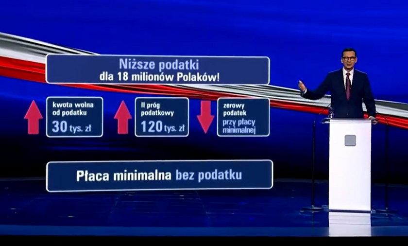Chociaż jeszcze nie ma konkretów, PiS twierdzi, że obniży podatki 18 milionom Polaków.