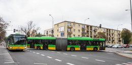 Przez autobusy są korki