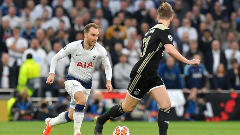 Christian Eriksen was under par in Tottenham's loss against Ajax
