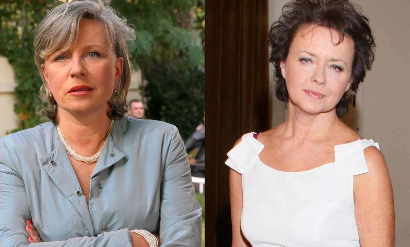 Krystyna Janda i Joanna Szczepkowska