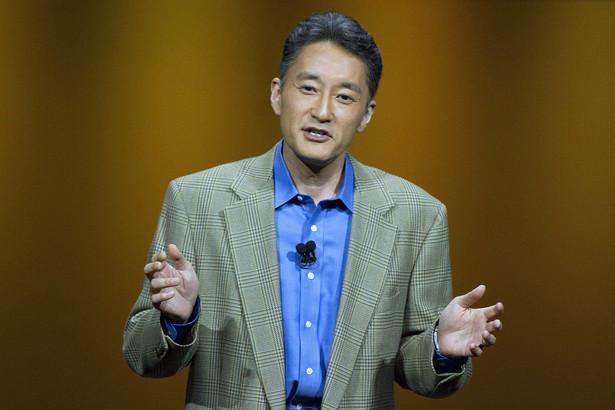 Kazuo Hirai, prezes Sony Computer Entertainment.