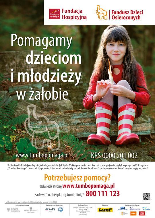 """""""Tumbo Pomaga"""" to program psychologicznego wsparcia dla dzieci i młodzieży"""