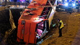 Tragiczny wypadek autokaru na A4. Sześć osób nie żyje, wielu rannych