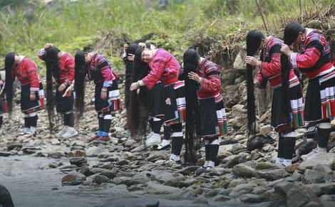 Žene iz plemena Jao