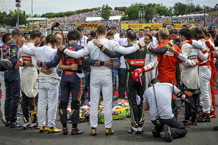 Vozači Formule 1 odaju počast Žilu Bjankiju