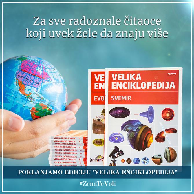 Žena rs je spremila sjajne nove poklone za vas: Velika enciklopedija u 12 tomova