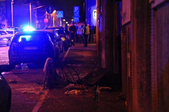 Nakon eksplozije plinske boce u suterenu u Ulici Milana Rakića