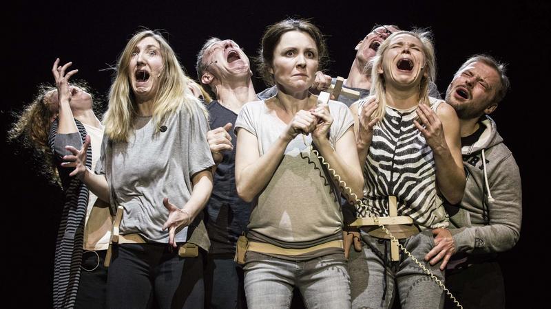 """""""Klątwa"""", reż. Oliver Frljić, Teatr Powszechny w Warszawie"""