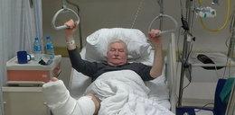 Lech Wałęsa w szpitalu! Miał wypadek!