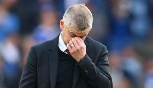 Manchester United manager Ole Gunnar Solskjaer is under increasing pressure Creator: Paul ELLIS